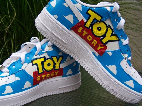 Disney S Toy Story Custom Nike Air Force 1 By Jessie Kavana