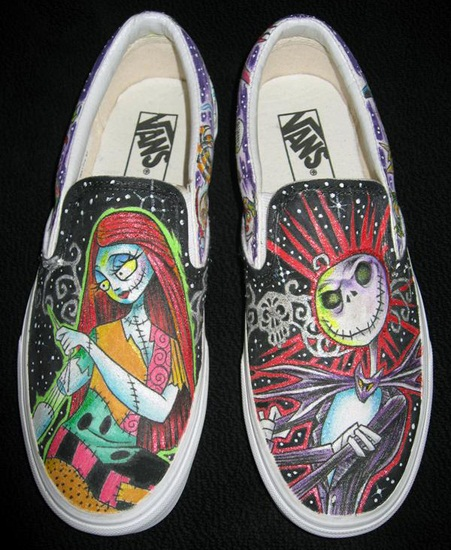 DeviantArt: More Like Nightmare Before Christmas Shoes by