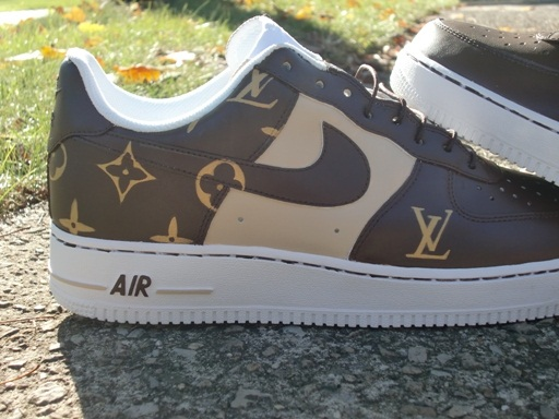 Louis Vuitton Nike Air Force 1 Supreme Confederated Tribes Of The Umatilla Indian Reservation