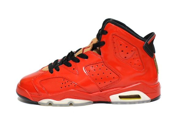 porsche 911 air jordan vi c2 customs 2 Red Porsche 911 Custom Air Jordan VI Shoes by C2 Customs