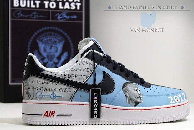 Gray Air Force 1 Obama Shoes New