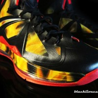 "Nike Lebron X ""He's On Fire!"" by BlackLion Customs"