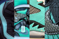 best-diamond-tiffany-dunk-custom-sneakers