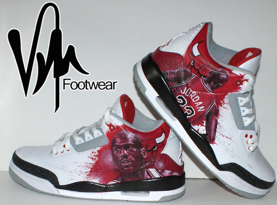 Customized jordans 3
