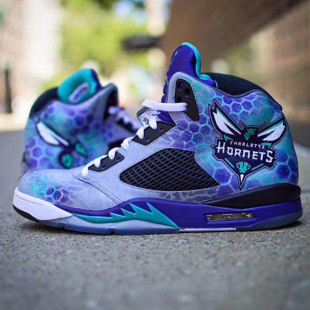 charlotte-hornets-shoes-air-jordan-v-grape-dejesus-custom-footwear