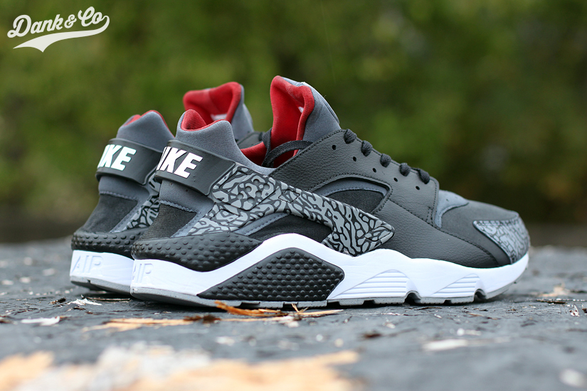 ... Custom nike-huarache-run-air-jordan-iii-dank-customs- . 7bfca4ad7