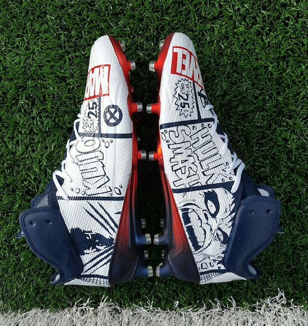 Brandon Bolden New England Patriots Custom Football Cleats
