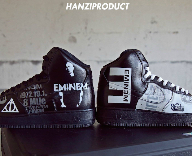 Eminem Custom Shoes