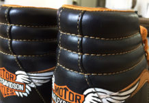 Harley Davidson custom shoes