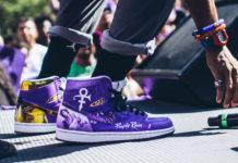 spike lee prince purple rain custom sneakers