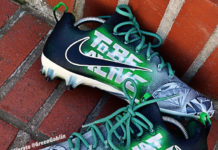 sierato mills eagles custom football cleats